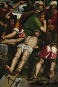 Callisto Piazza Cristo inchiodato alla Croce