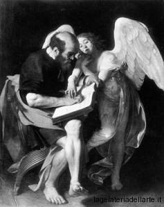 Caravaggio - Primo San Matteo e l'Angelo