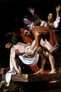 Caravaggio - Sepoltura del Cristo