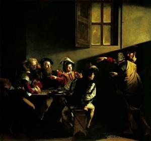 Caravaggio - Vocazione San Matteo