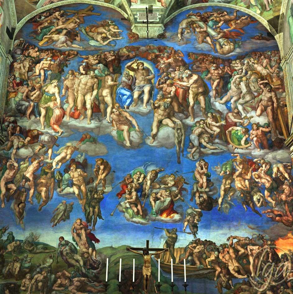 Il giudizio di Michelangelo visto da Marcello Venusti