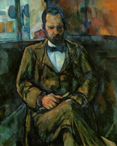 Ambroise Vollard dipinto da Cézanne